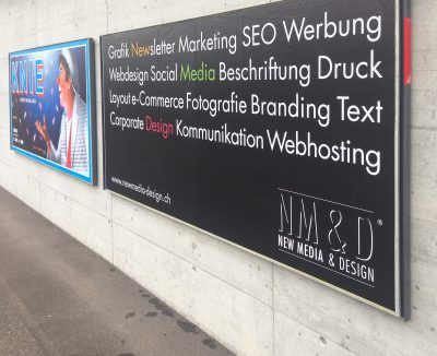 New Media & Design - Plakat Kampagne