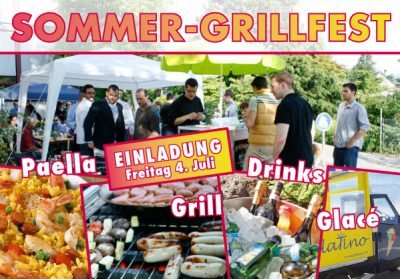 New Media & Design - Grillfest