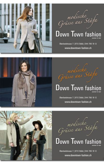 New Media & Design - Downtown fashion