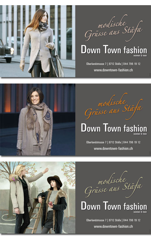 New Media & Design - Downtown fashion