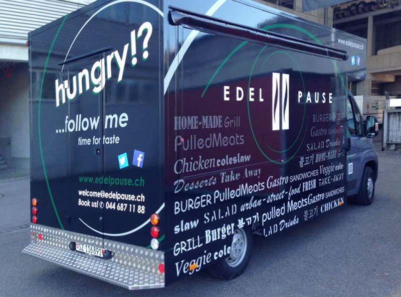 New Media & Design Foodtruck Edelpause