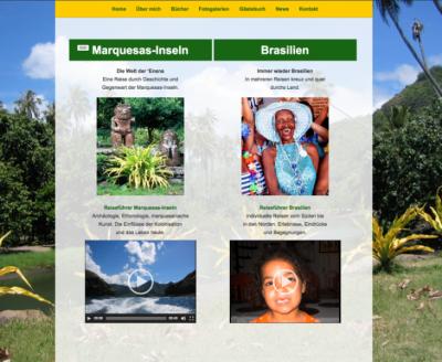 Marquesas Brasilien Webseite