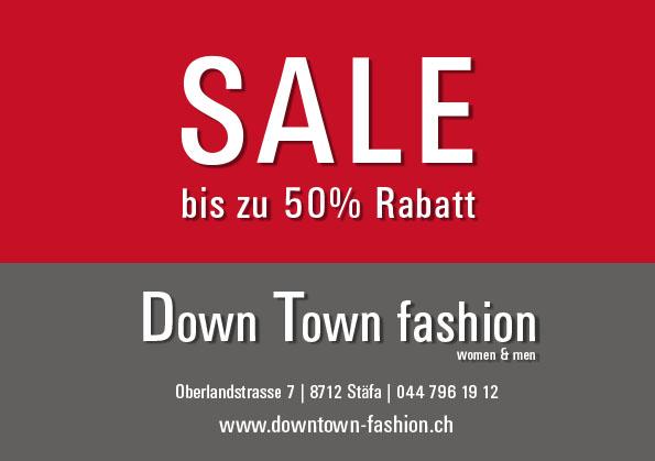 Down Town fashion Sale
