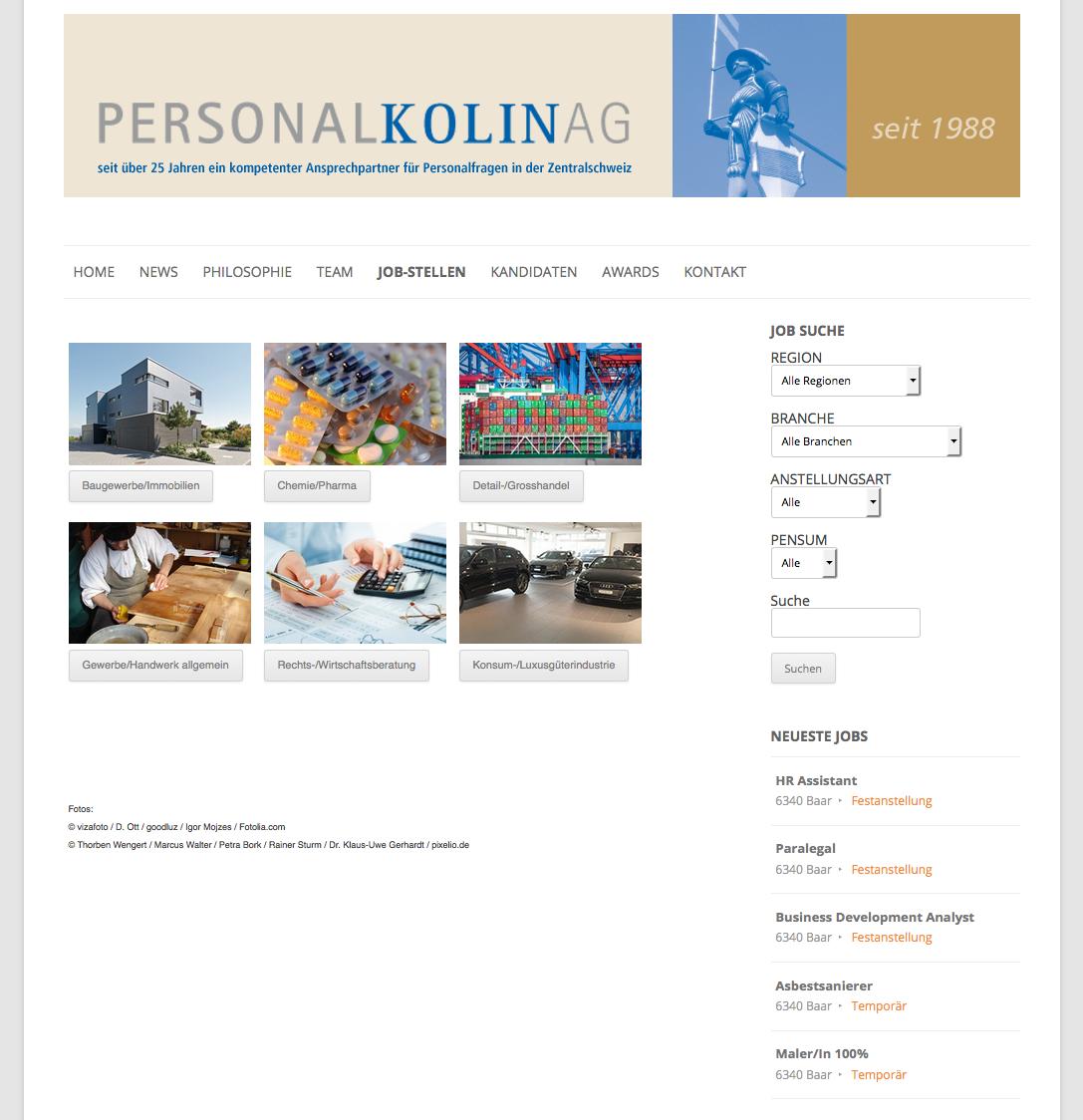 Personal Kolin