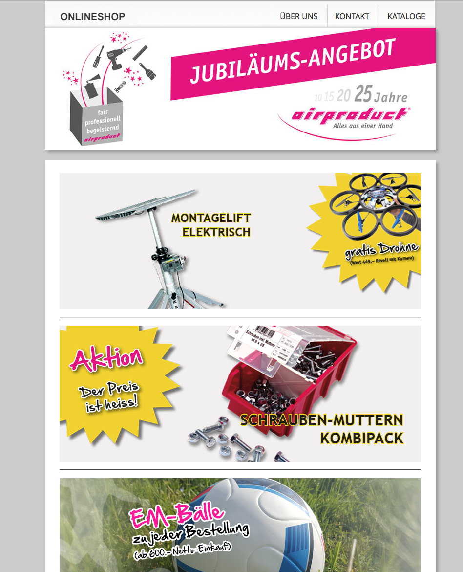 Newsletter Airproduct