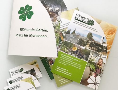 Bühlmann Gartenbau Visueller Auftritt