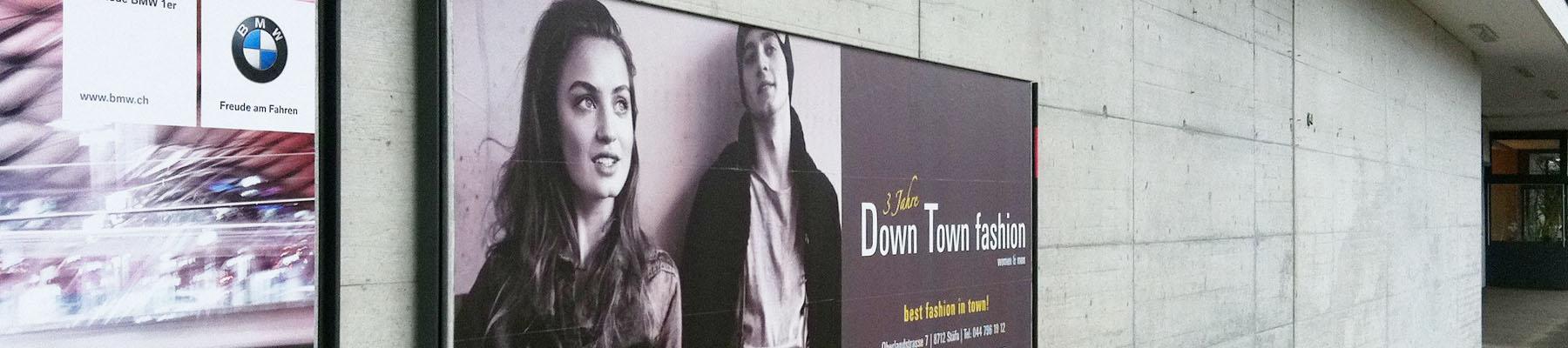 Plakat Down Town fashion