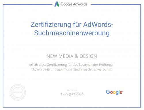 Google zertifiziert