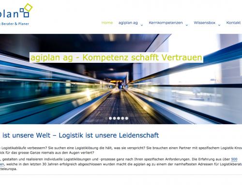 Agiplan neuer Webauftritt