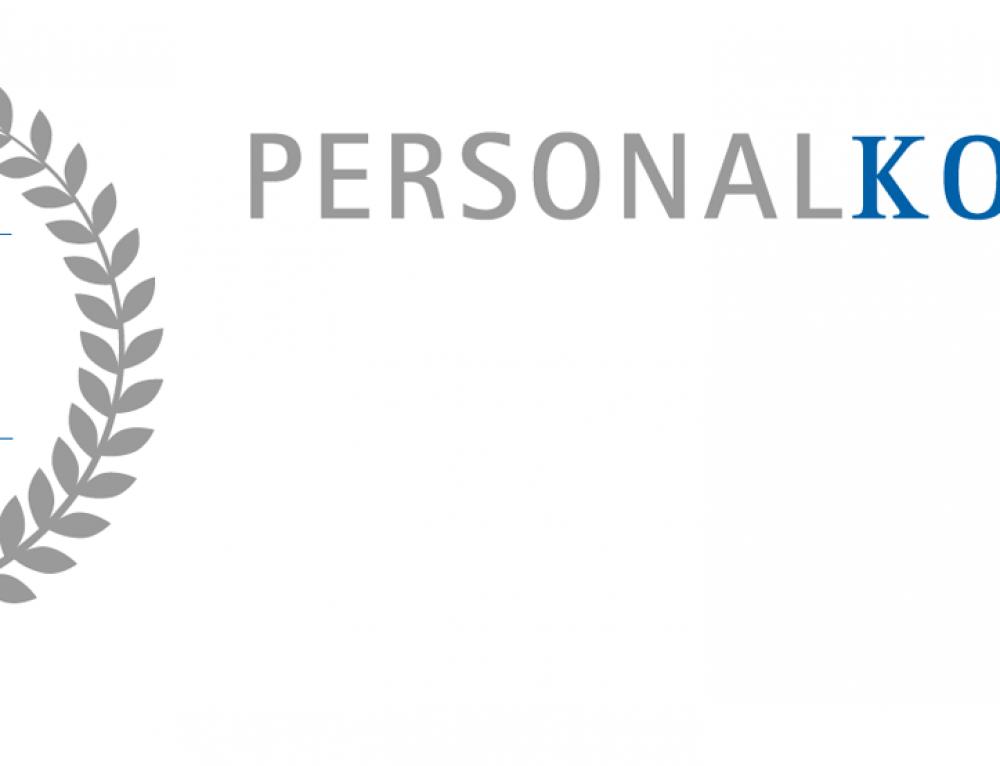 Jubiläums Logo-Design Personal Kolin