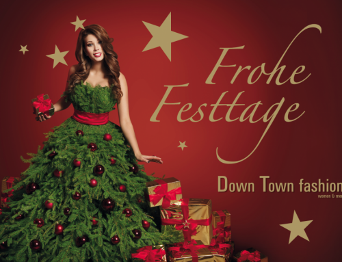 Xmas Kampagne DownTown fashion
