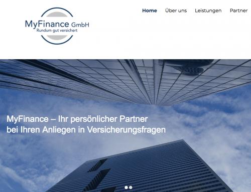 MyFinance Neuer Auftritt