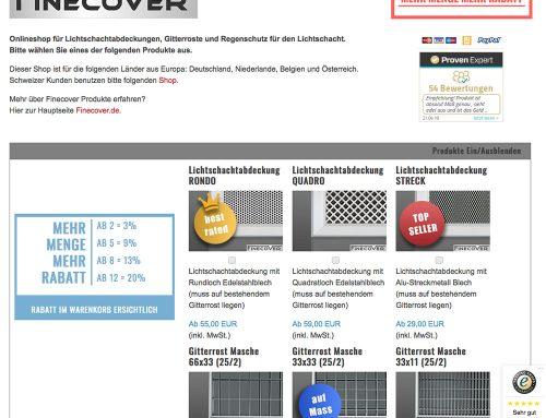 e-Commerce Finecover