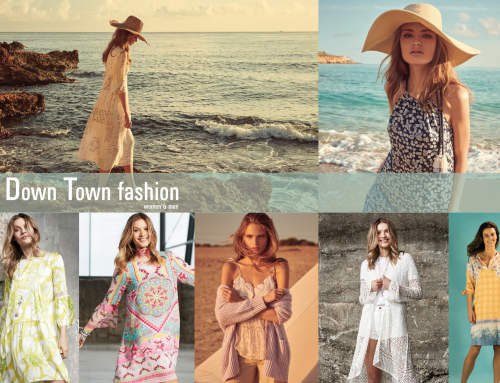 Frühlings-Mode Kampagne