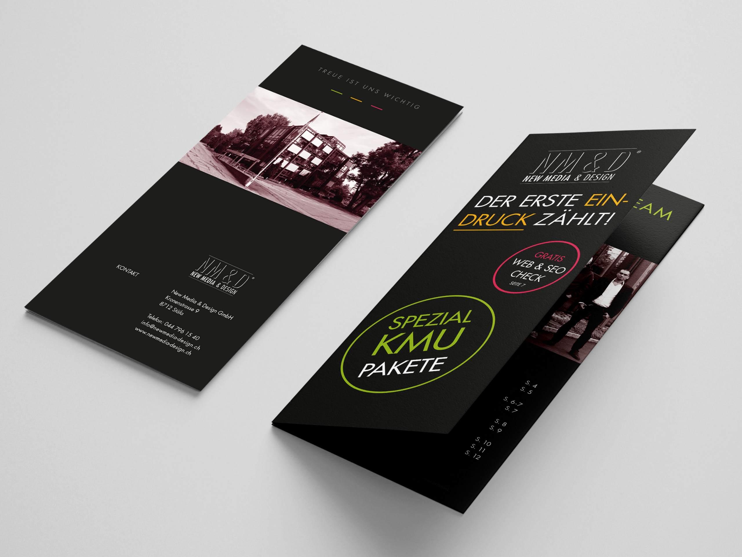 New Media & Design KMU