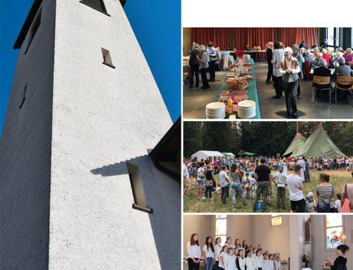Gestaltung Layout Pfarrei-Info