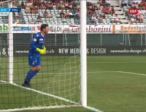 LED-Werbung FC Lugano