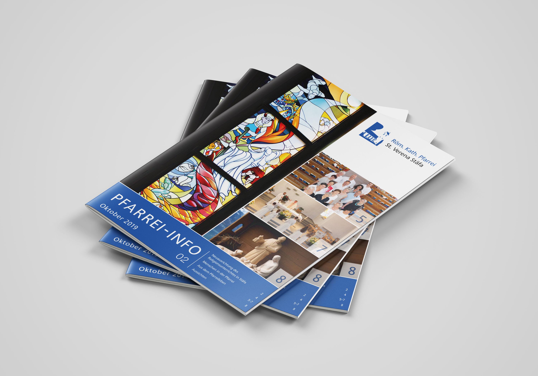 New Media & Design Kath. Kirche Stäfa Pfarrei Info