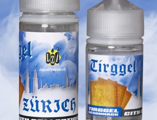 Etikettendesign für Vape-Liquids