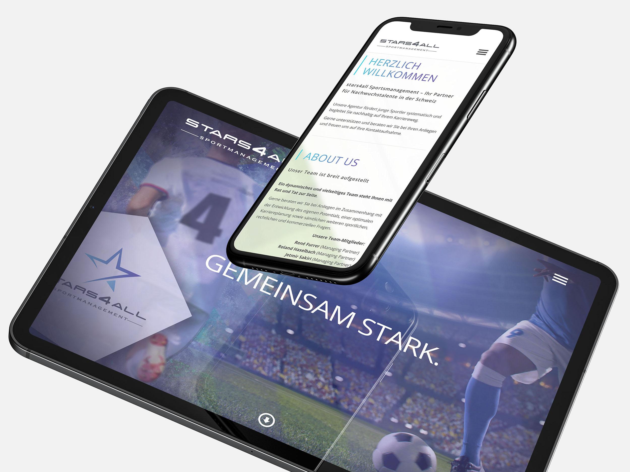 New Media & Design Stars4all Website