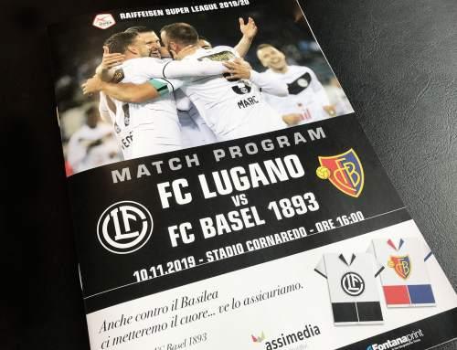 Inserate FC Lugano Matchprogramm