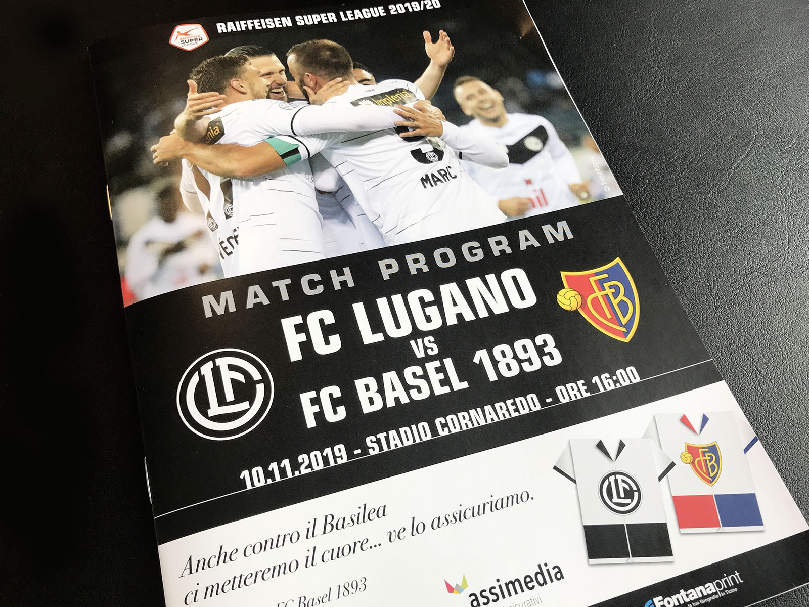 New Media & Design Match Programm FC Lugano
