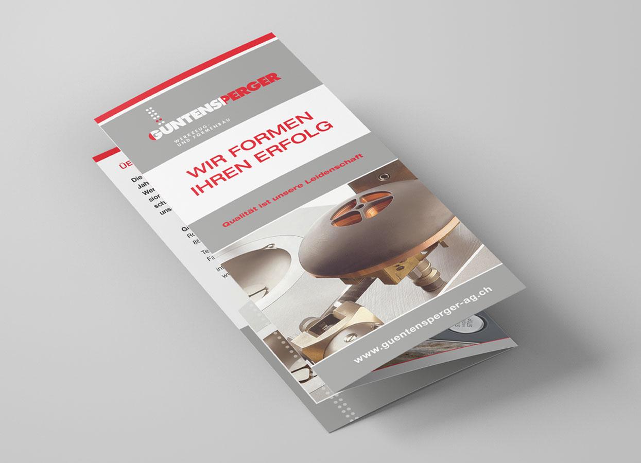 New Media & Design Flyer Güntensperger