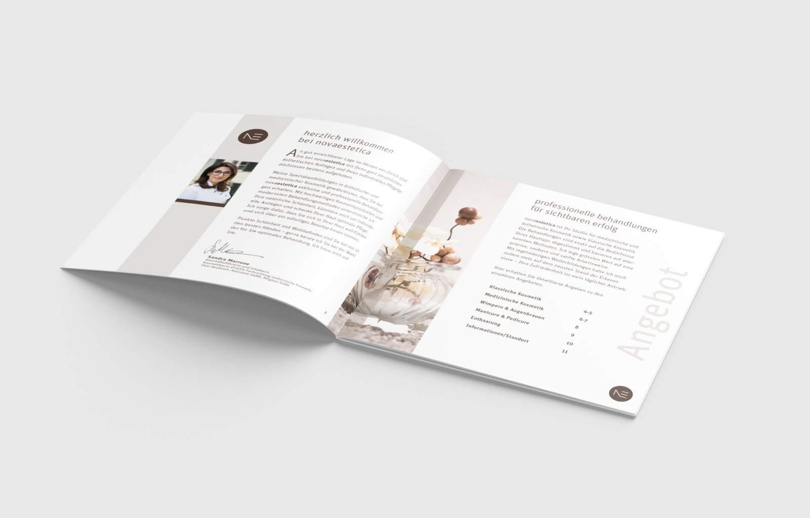 New Media & Design Layout novaestetica