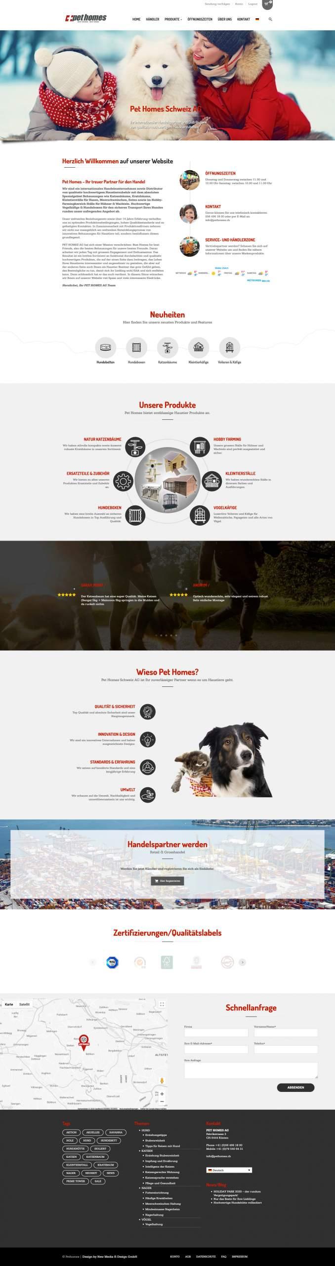 New Media & Design Webdesign