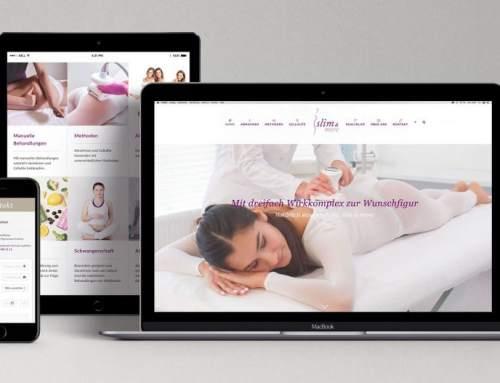 Slim.ch Neue Website