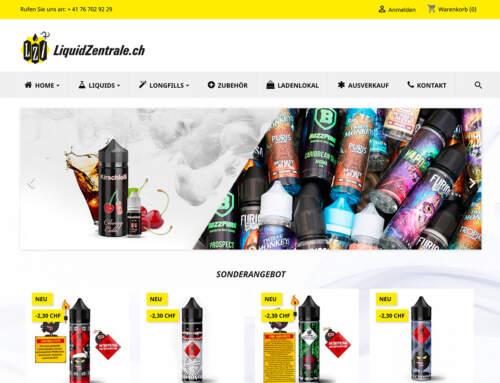 Neuer Onlineshop Liquids